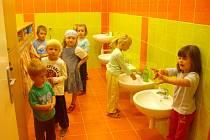 Opravená školka v Myslejovicích