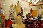 Práce v ateliéru