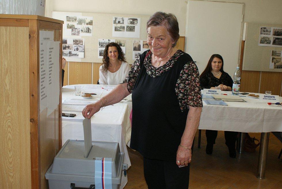 Eurovolby v Plumlově - 24. 5. 2019 - Marie Rozehnalová