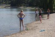Koupání na plumlovské přehradě