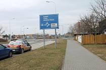 V ulici Josefa Lady by měl letos vzniknout nový propojovací úsek cyklostezky. 17.2. 2020