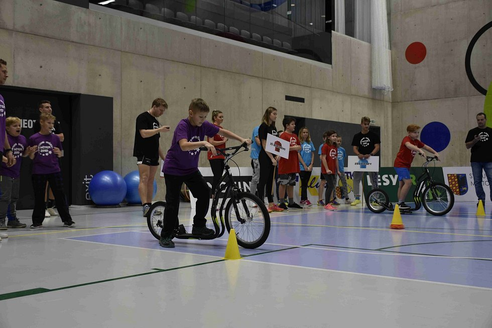Sportovně-charitativní akce pro handicapované a děti z dětských domovů v Národním olympijském centru v Prostějově