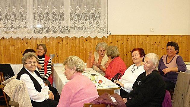 Senioři ve Vrchoslavicích