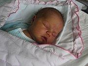 Eliška Pavlíková, Alojzov, narozena 24. května, míra 51 cm, váha 3500 g