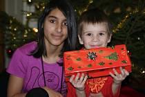 Štědrý den v Dětském domově v Plumlově