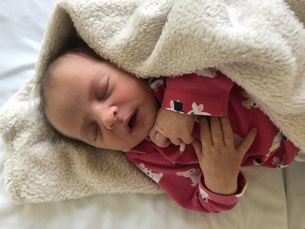 Elen Szabó, Hranice, narozena 29. listopadu 2020 v Přerově, míra 50 cm, váha 3690 g