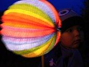 Lampionový průvod. Ilustrační foto