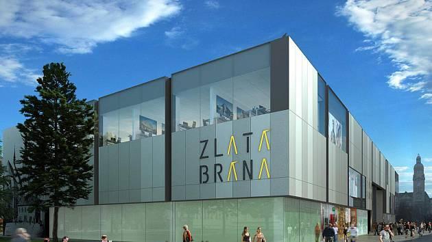 Vizualizace budoucí podoby Prioru v Prostějově