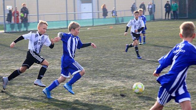 Fotbalový turnaj kategorie U11 v Prostějově
