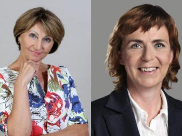 V druhém kole senátních voleb na Prostějovsku se utká Božena Sekaninová (ČSSD) a Jitka Chalánková (nezávislá kandidátka)