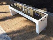 Solární lavička Steora