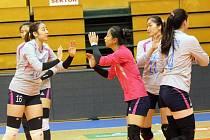 Čínské mistryně Tian Jin Sports Bureau