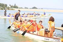 Jedenáctý ročník závodů dračích lodí Plumlovský drak, se uskutečnil v sobotu 31.8. 2019.