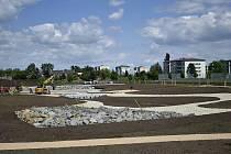 Výstavba nového parku na jihu Prostějova - 3.6. 2020