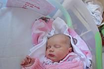 Eliška Jodlová, Prostějov, narozena 14. října, 53 cm, 3390 g