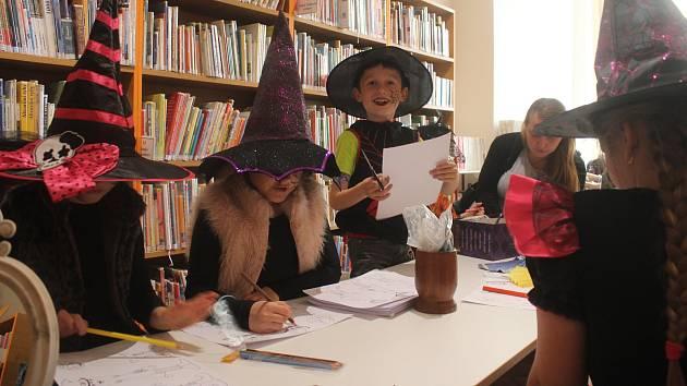 Čarodějnický čtvrtek v prostějovské knihovně