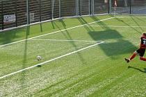 Fotbalový areál v Konici. Ilustrační foto
