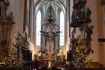 Prostějovský kostel Povýšení sv. Kříže