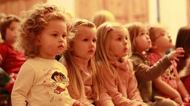 Dětské publikum si přijde na své. Ilustrační foto