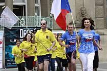 Cyklo-běh proti drogám v Prostějově