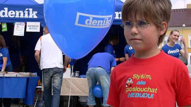 Vydařeného dne v Konici si užívaly především děti.