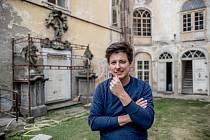Matěj Stropnický na svém zámku v Osečanech v červenci 2019