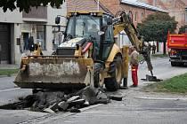 Částečná uzavírka Plumlovské ulice kvůli rekonstrukce vodovodu a kanalizace