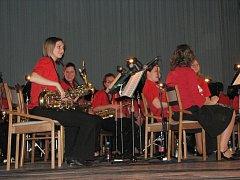 Dechový orchestr Základní umělecké školy v Prostějově zahrál posluchačům melodie z pohádek, westernů i thrillerů.