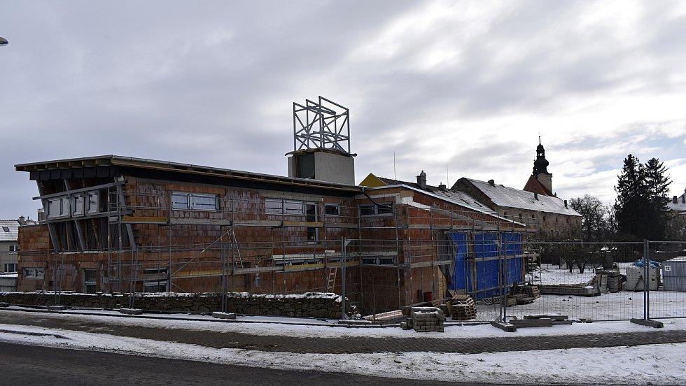 Výstavba moderní hasičské zbrojnice pro kostelecké hasiče  - 15.2. 2021