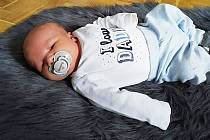 Patrik Vrbata, Prostějov, narozen 26. ledna 2021 v Prostějově, míra 52 cm, váha 4000 g