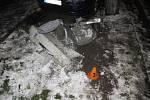 Nehoda passatu ve Vrahovické ulici v Prostějově