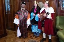 Koledníci v pátek zavítali také na prostějovský magistrát