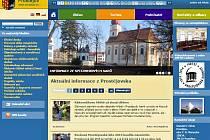 Webové stránky města Prostějova - srpen 2015