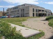 Prostor se Společenským domem v Prostějově, kde má vyrůst nová obchodní Galerie Prostějov