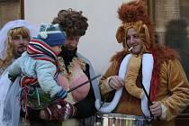 Tištín zažil v sobotu masopust. Jednalo se o třetí ročník obnovené tradice.