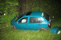 Nehoda fabie na R46