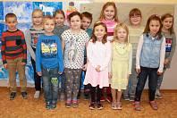 Žáci 1. B ze základní školy Určice