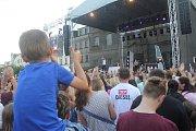 Kapela Slza vzbudila v Prostějově pořádný rozruch.