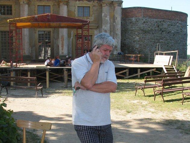 Kastelán plumlovského zámku Robert Doleček