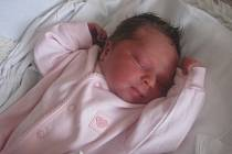 Lucie Soldánová, Prostějov, narozen 5. února v Prostějově, míra 48 cm, váha 2750 g.