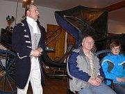 Václav Obr – výklad při noční prohlídce v Muzeu kočárů