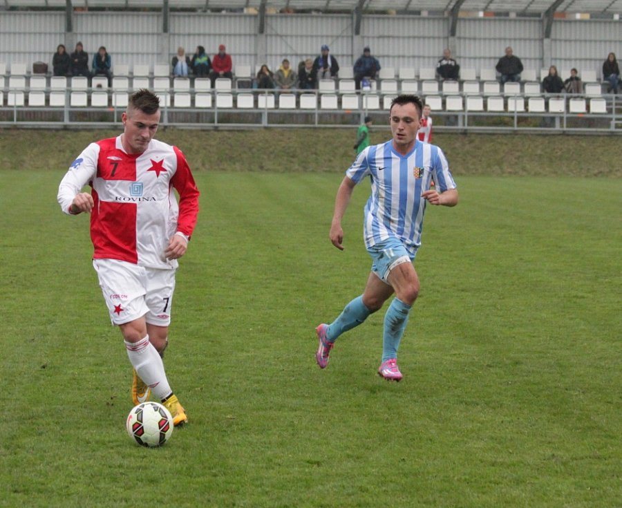 Prostějovští fotbalisté se pro letošní rok rozloučili s domácím trávníkem remízovou bitvou s Kroměříží.
