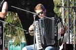 Mezinárodní hudební festival Keltská noc v plumlovském kempu Žralok.