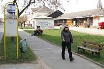 Prostory kolem vlakového nádraží.
