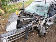 Řidiči o víkendu bourali v Mořicích, u Dzbelu, u Stínavy a taky nedaleko Kralic na Hané.