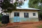 Budova mateřské školy kousek od mého domku