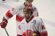 Hokejisté Prostějova (v černém) doma podlehli Frýdku-MístkuJan Rudovský (FM)