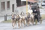 Spanilá jízda kočáru po obcích Olomouckého kraje