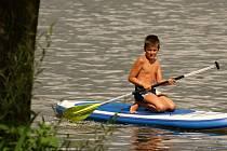Plumlovská přehrada - 17. července 2020