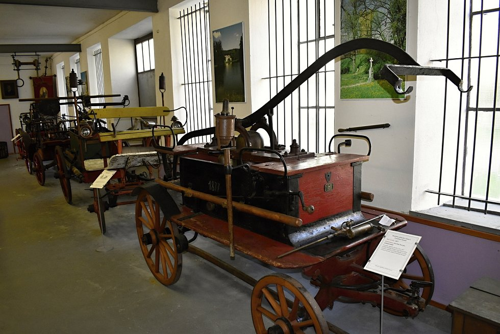 Hasičské muzeum R. A. Smekal v Čechách pod Kosířem